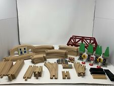 THOMAS the TRAIN & Others ~ Wooden Train Tracks & Misc Lot & Various Pieces