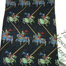 Tie Silk Knights On Horseback Metropolitan Museum Of Art Renaissance Jousting