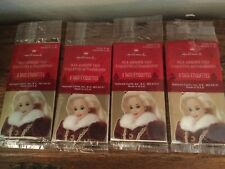 4 Packs Barbie Vintage 1995 New Christmas Gift Tags Hallmark 8 Tags In Each