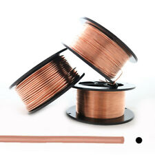 99.9% Pure Copper wire Dead Soft Round 10 12 14 16 18 20 21 22 24 26 28 30 Gauge