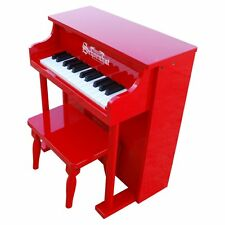 Schoenhut 25 Key Red Traditional Spinet Piano
