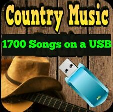 16gb usb flash drive Greatest Hits Country Music Collection 1700 MP3 songs