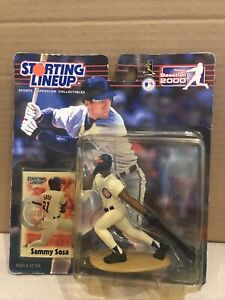 2000 Hasbro Starting Lineup SAMMY SOSA CHICAGO CUBS Sports Superstar Collectible