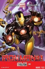 Ironman #1 - November 2012 [Paperback, Marvel Now!, Comics, Gillen, Land] NEW NM