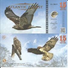 ATLANTIC FOREST BILLETE 15 AVES DOLLARS 2016