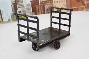 Antique 1907 Prewar Bing 1 Gauge No.14118 Railroad Baggage Cart