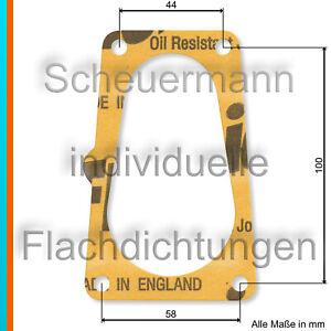 Drosselklappen-Dichtung For Opel Kadett E, Ascona C, Rekord E 1,8