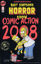 Bart Simpsons Horror Show #12 Variant-cover limitado 666 ex. Comic Action 2008