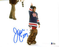 JIM CRAIG SIGNED AUTOGRAPHED 8x10 PHOTO OLYMPIC GOLD HOCKEY LEGEND BECKETT BAS
