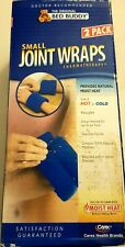 Carex Bed Buddy Small Joint Wraps Hot/Cold Compress Thermatherapy New 2 wraps.