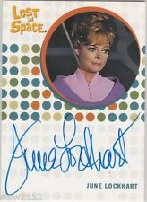 THE COMPLETE LOST IN SPACE JUNE LOCKHART MAUREEN ROBINSON AUTOGRAPH RARE VHTF