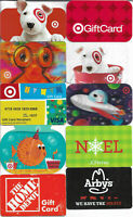 GIFT CARD COLLECTION (102 CARDS) - NO VALUE ON CARDS