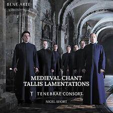 Tenebrae Consort - Medieval Chant Tallis Lamentations [CD]