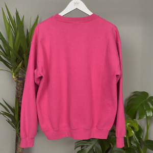 Ladies Sweatshirt - Hot Pink Size Medium PreLoved