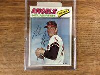 REDUCED! Great looking 1977 Topps Nolan Ryan California Angels #650 Card!