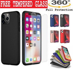 Case for iPhone 12 11 8 7 Plus XR XS Shockproof 360° Full Body Cover Protective