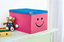 Aufbewahrungsbox 2er Set Spielzeugkiste Box Stapelbox Dekobox Geschenkbox