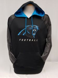 Brand New Majestic Men's NFL Carolina Panthers Thermabase Pullover Hoody Sweater