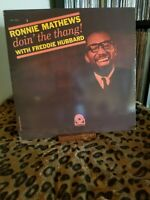Ronnie Mathews w/ Freddie Hubbard Doin the Thang Prestige PRLP 7303.  EX / EX
