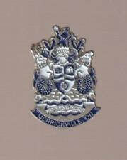 Merrickville Ontario Metal Pinback Pin - Good