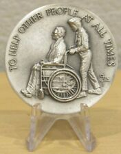 Boy Scouts of America To Help Other People 999 Fine Silver Round - 35.1 grams