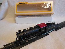 Model Railroad-HO Scale-Lighted 0-6-0 Steam Loco-Pennsylvania RR-Runs Great-PreO