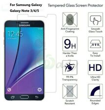 3Pack Premium Tempered GLASS Screen Protector For SAMSUNG GALAXY Note 3/4/5