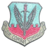 "New  US Air Force Combat Command  Subdued Patch     3"" x 3"""