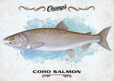 15/16 UPPER DECK CHAMPS FISH #F-8 COHO SALMON *18909