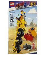 Lego The Lego Movie 70823 Emmet's Thricycle 174 Piece Set