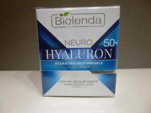 Anti Falten Hautpflege Hyaluron 50+ Face Creme Tag/Nacht 50 ml (0,299 EUR/ ml.)