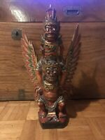 Antique Balinese/ Indonesian mythical carved figure circa 1920's Museum Quality