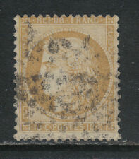 France 1870-73 Ceres 10c bister on yellowish (54) used