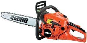 echo cs-490 18 inch 50.2cc 2 stroke professional chainsaw