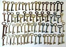 Lot of 70 old vintage antique skeleton keys