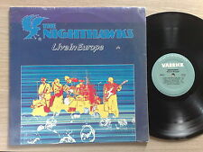 THE NIGHTHAWKS (JIM THACKERY) – LIVE IN EUROPE – LP 33 GIRI CANADA