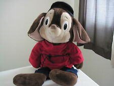"28""1989 Vintage Universal Studio Hollywood FIEVEL AN AMERICAN TAIL Mouse Plush"