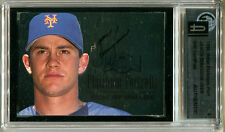 1996 Metal Platinum Portraits JASON ISRINGHAUSEN Signed Card GAI Slabbed Auto