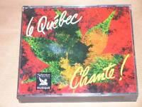 COFFRET 3 CD / LE QUEBEC CHANTE / READER'S DIGEST / RARE / EXCELLENT ETAT
