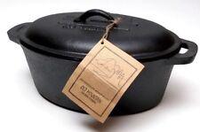 Old Mountain Cast Iron Casserole Dish - PreSeasoned -(New)