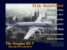 Douglas DC-7, DC-6, DC-4 - Large 4 engine Airliners - Free Shipping too