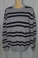 ST. JOHN'S BAY Men's Striped Sweater - Size XL (1)