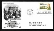 #1935 18c James Hoban - ArtCraft/PCS FDC