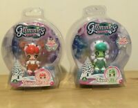 Glimmies Polaris Dolls x 2 Nova and Dotterella New In Sealed Box
