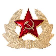 Original Russian Soviet Red Army Military Star USSR Kokarda Metal Pin Badge