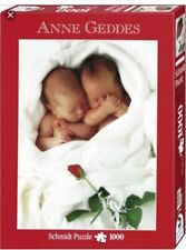 Schmidt PUZZLE 57453 Anne Geddes: Milly e Natalie neonati bambini 1000 pz nuovo