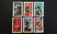 6 TIMBRES COLLECTION COMPLETE DESTINEES ROMANESQUES 2003 FRANCE