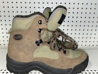Vasque 7485 Womens Athletic Hiking Trail Boots Size 8.5 Brown Green Black