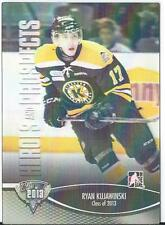 2012-13 ITG Heroes and prospects Class of 2013 3D RYAN KUJAWINSKI # 154