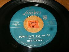 EDDIE COCHRAN - DON'T EVER LET ME GO - C'MON EVERYBODY   / LISTEN / ROCK POPCORN